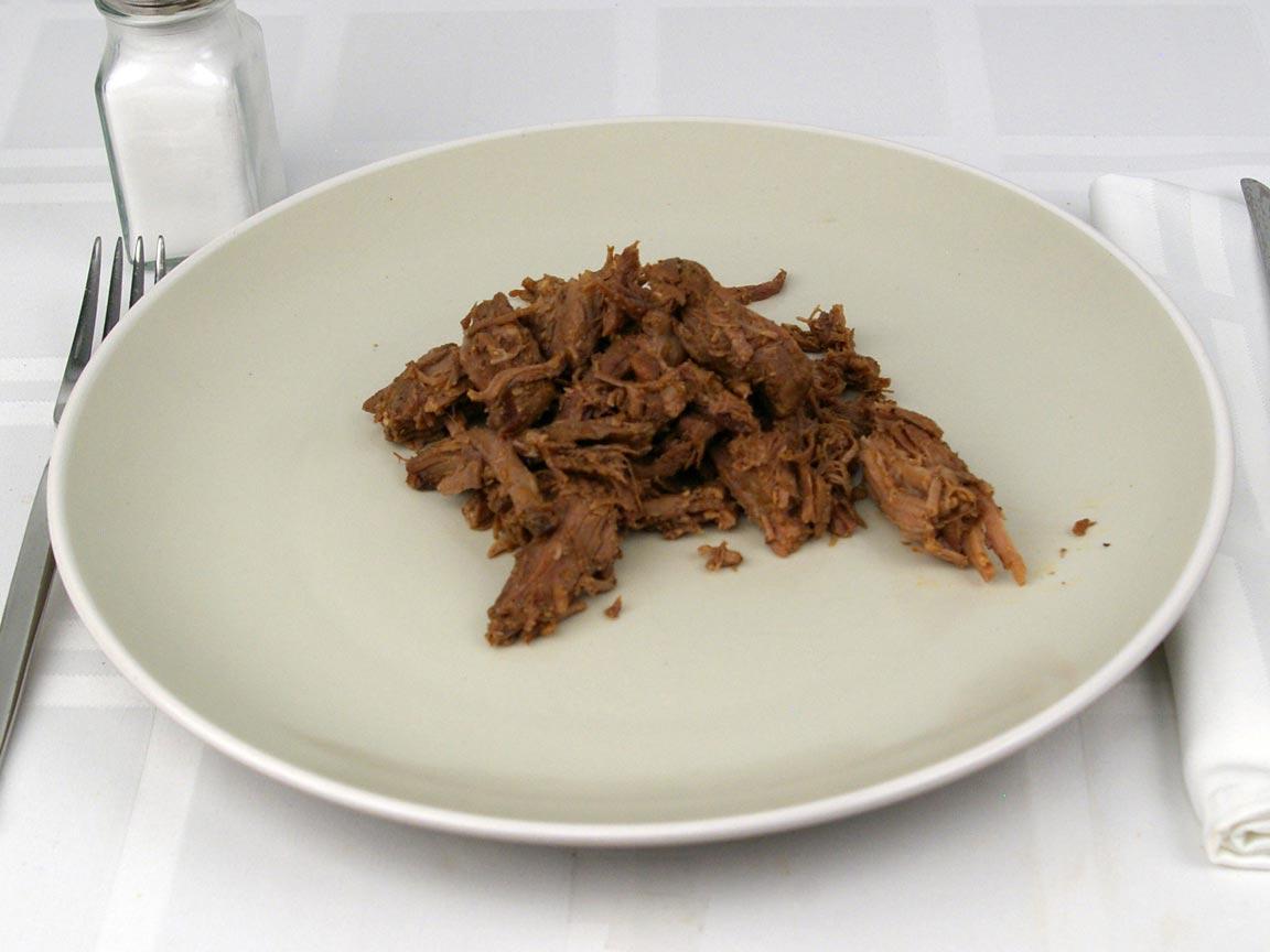 Calories in 113 grams of Chipotle Barbacoa