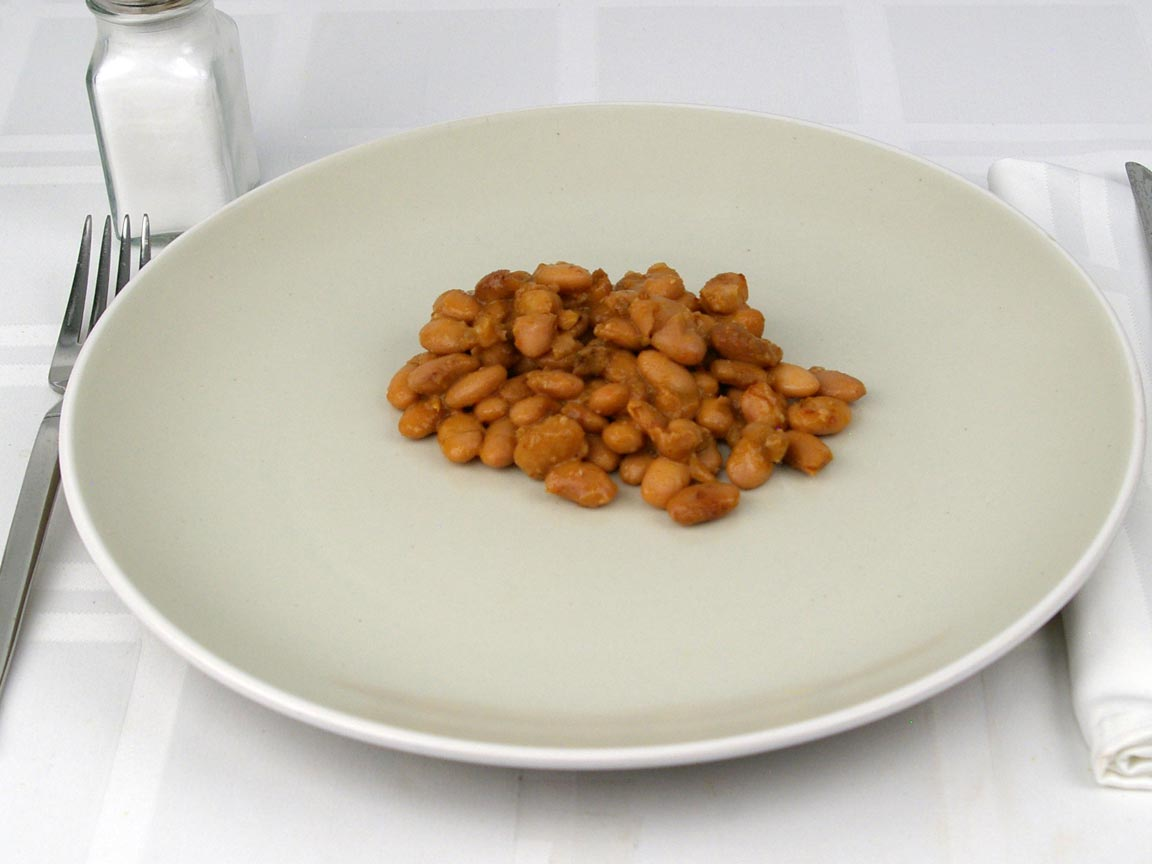 Calories in 0.5 cup(s) of Chipotle Pinto Beans