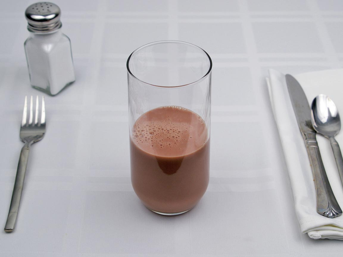 Calories in 9 fl oz(s) of Instant Breakfast - Chocolate - Non Fat Milk