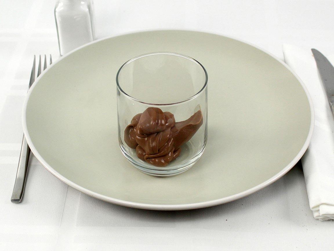 Calories in 0.67 container(s) of Dark Chocolate Pot de Creme