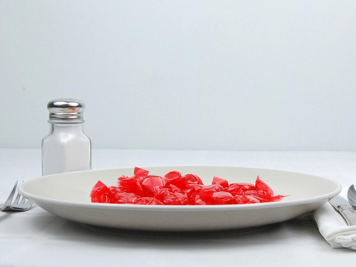 Calories in 16 piece(s) of Cinnamon Discs