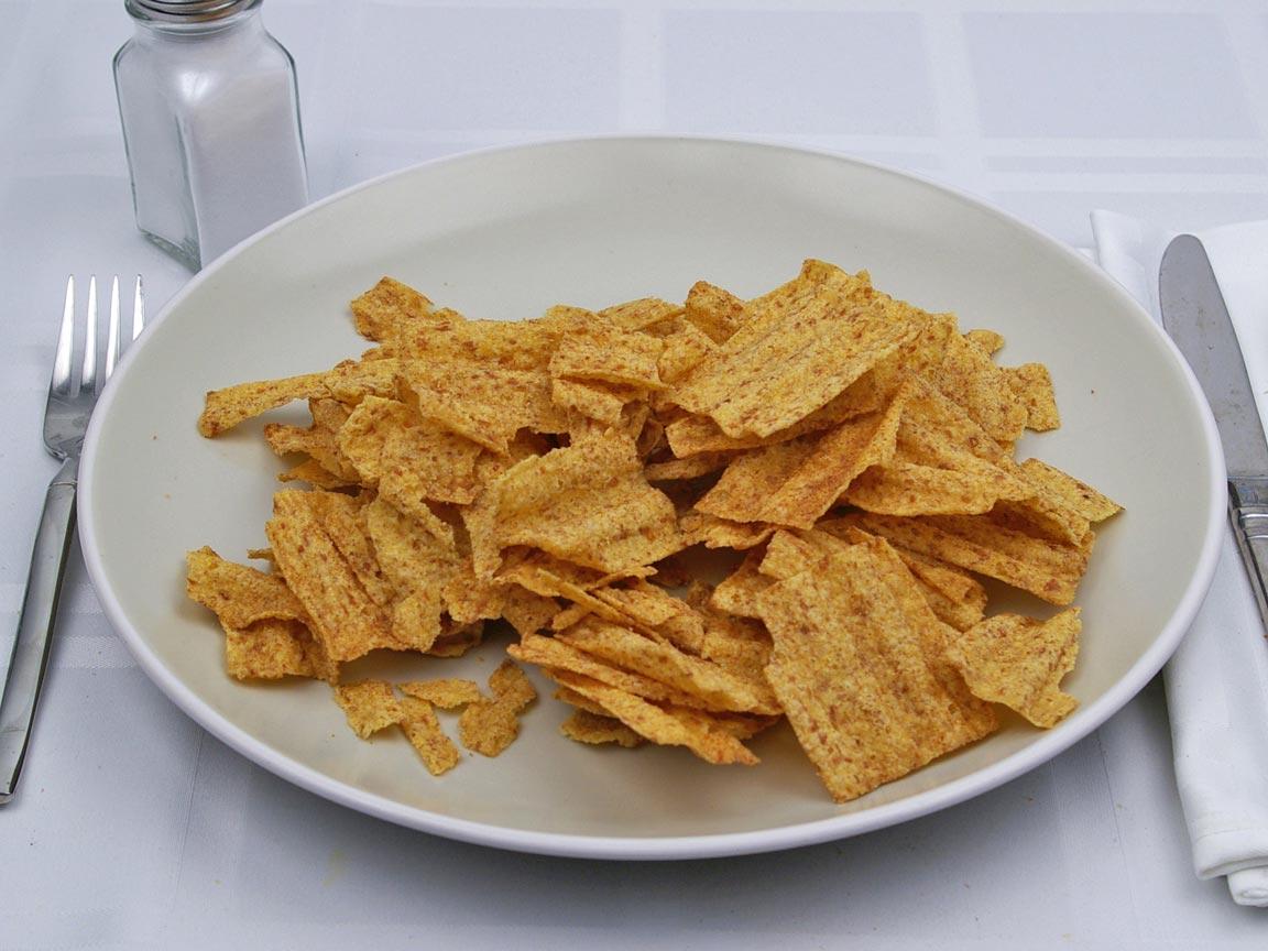 Calories in 85 grams of Sun Chips - Original