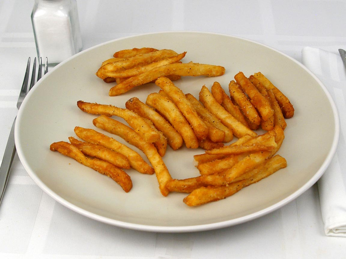 Calories in 5 fl oz(s) of French Fries