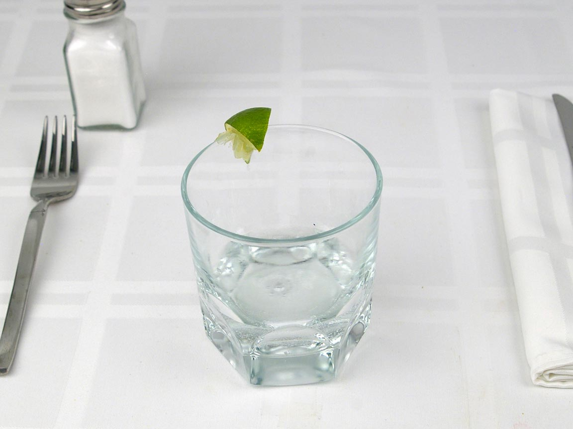 Calories in 3 fl oz(s) of Gin and Tonic Cocktail