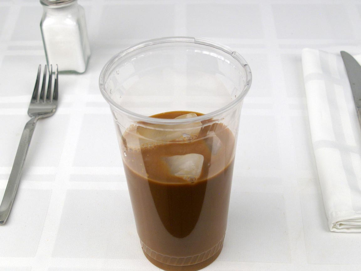 Calories in 0.83 tall of Starbucks Cold Brew - Sweet Cream