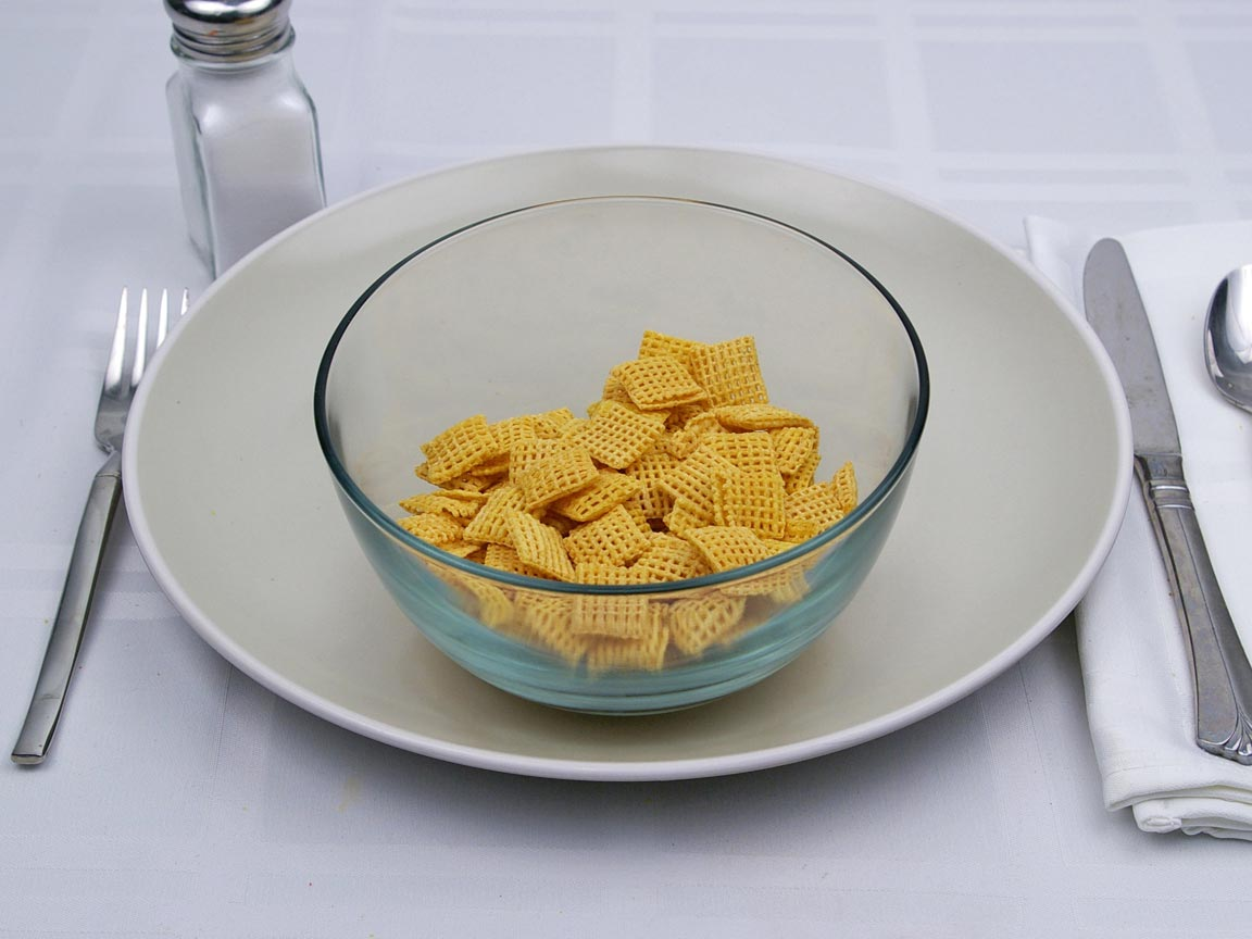 Calories in 1.25 cup(s) of Corn Chex Cereal