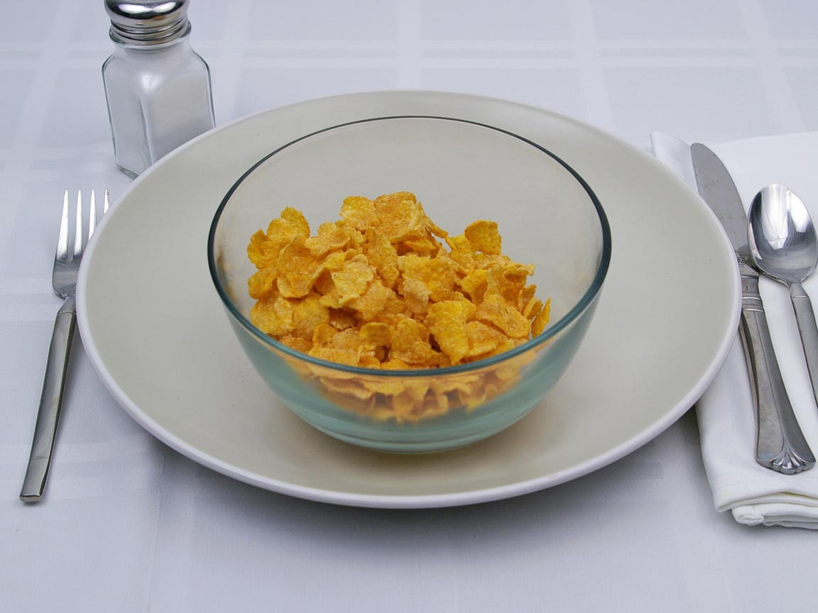Calories in 1.25 cup(s) of Corn Flakes Cereal