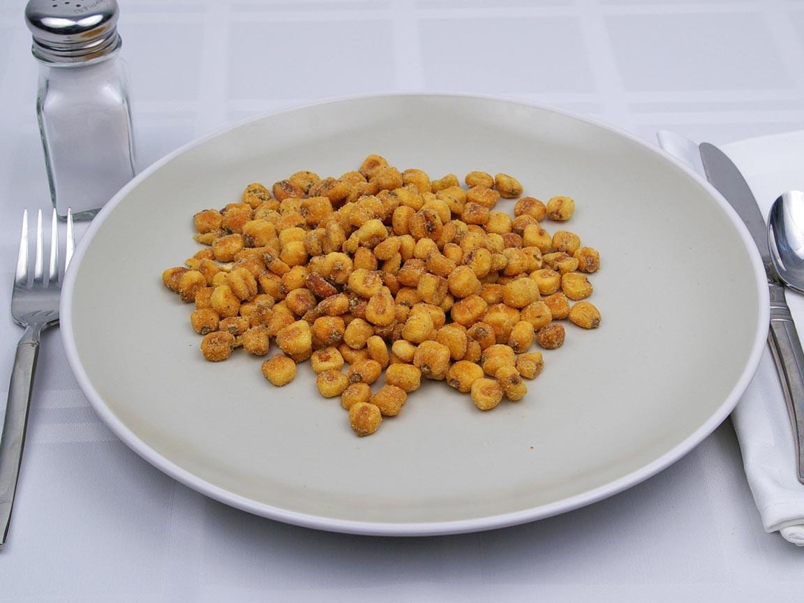 Calories in 99 grams of Corn Nuts
