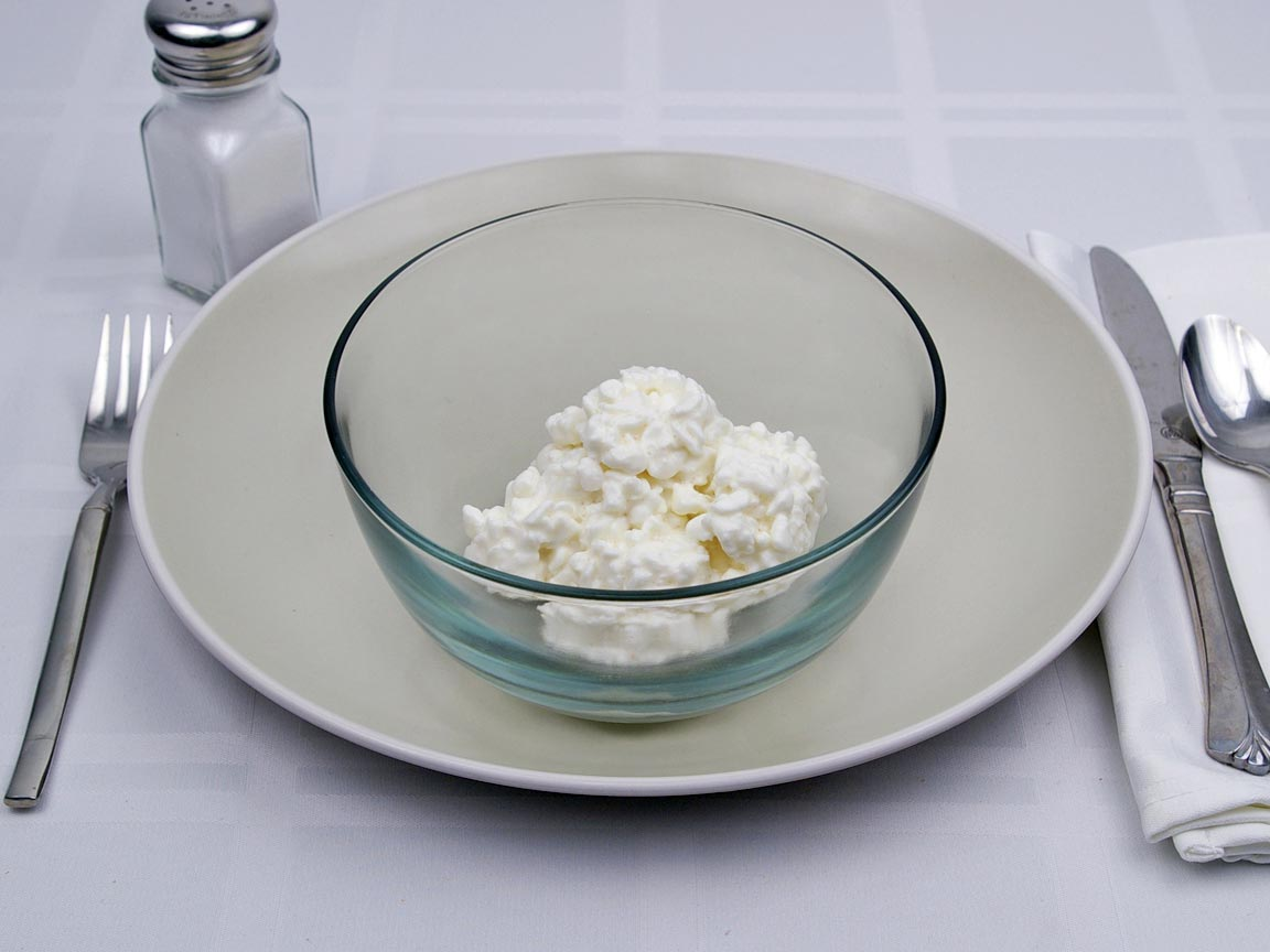 Calories in 0.75 cup(s) of Cottage Cheese - Nonfat