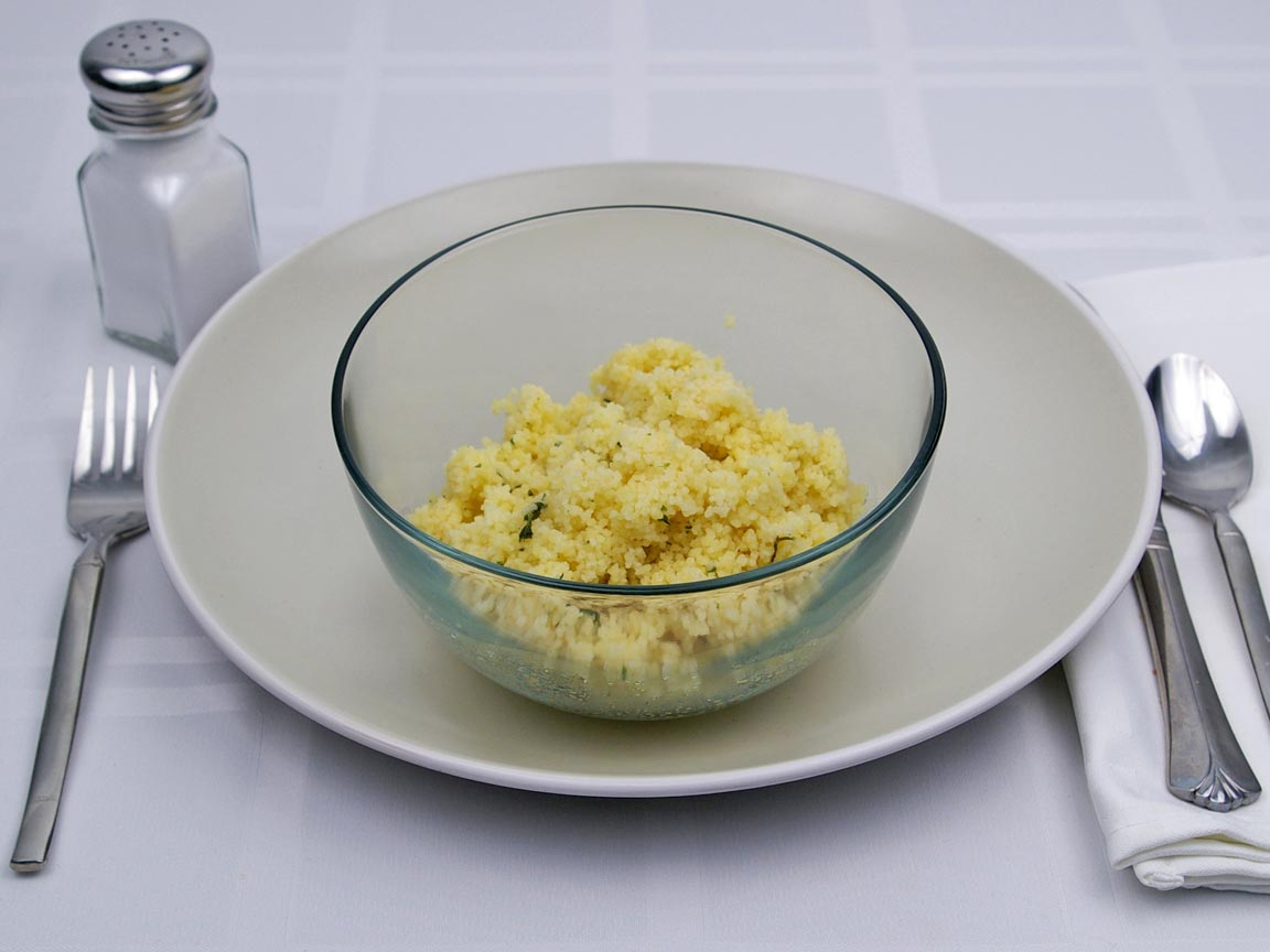 Calories in 1.25 cup of Couscous