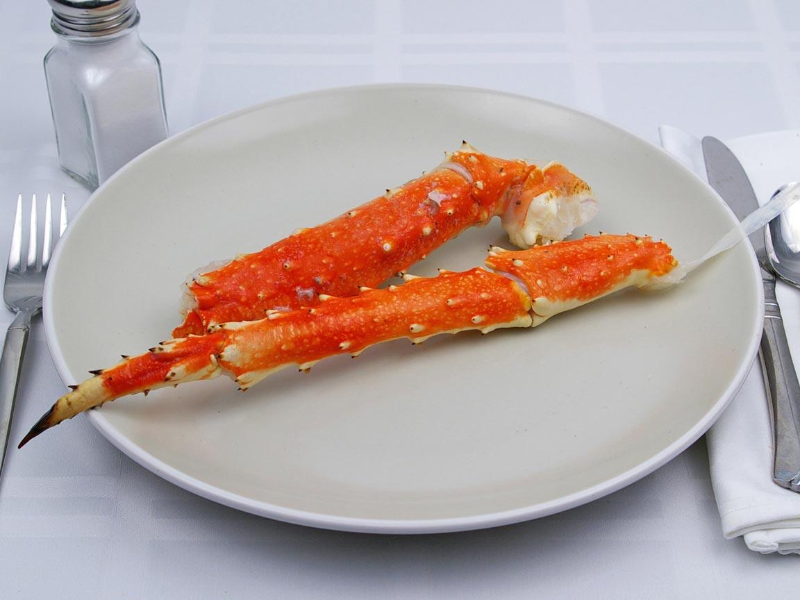 Calories in 1 leg(s) of Crab Legs - Alaskan King