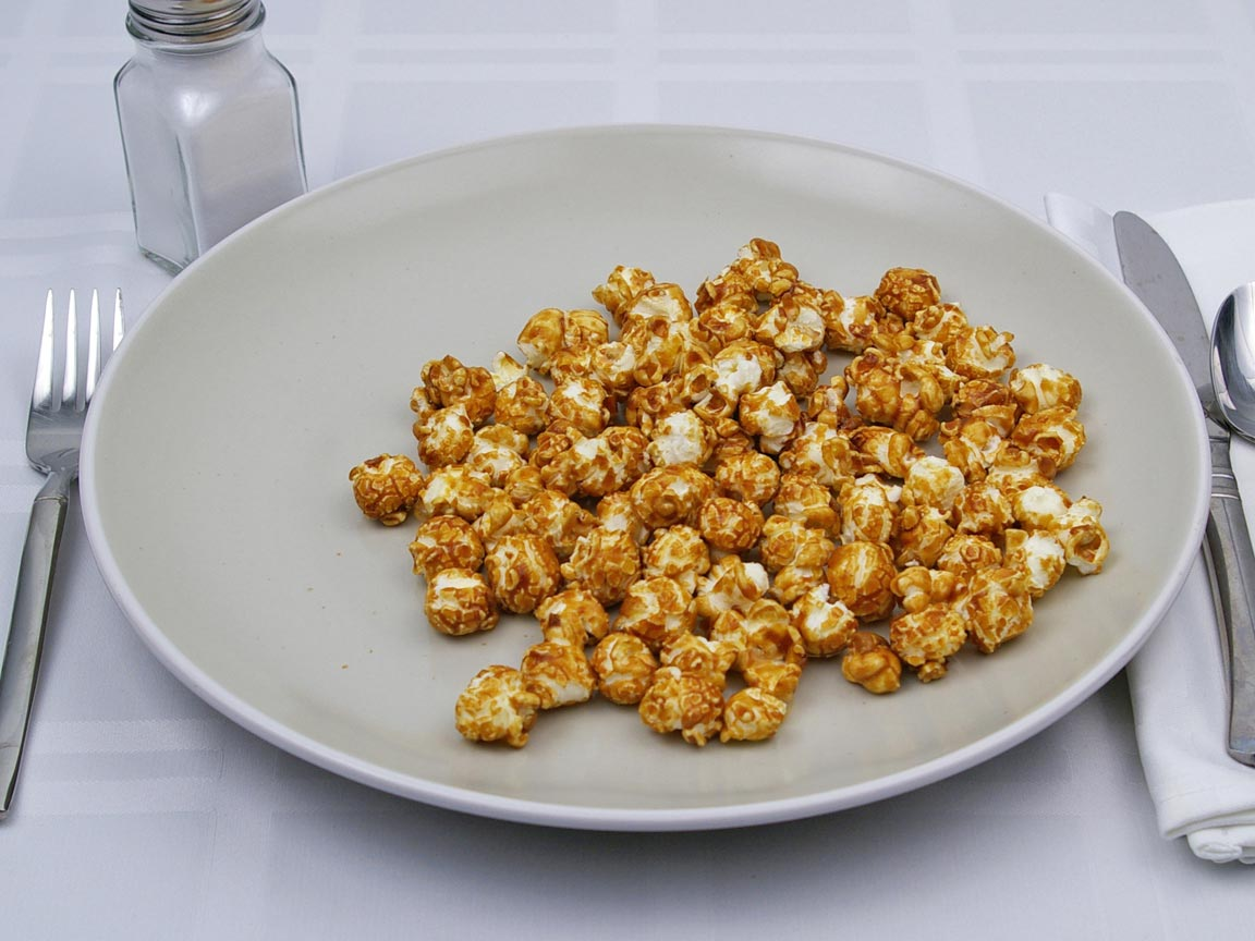 Calories in 1.5 cup(s) of Cracker Jack - Original