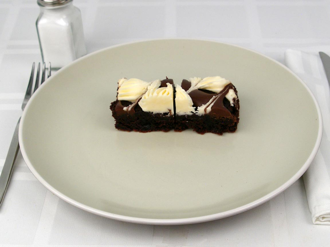 Calories in 2 piece(s) of Cream Cheese Brownie