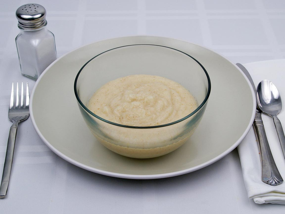 Calories in 1.75 cup(s) of Cream of Wheat - Water