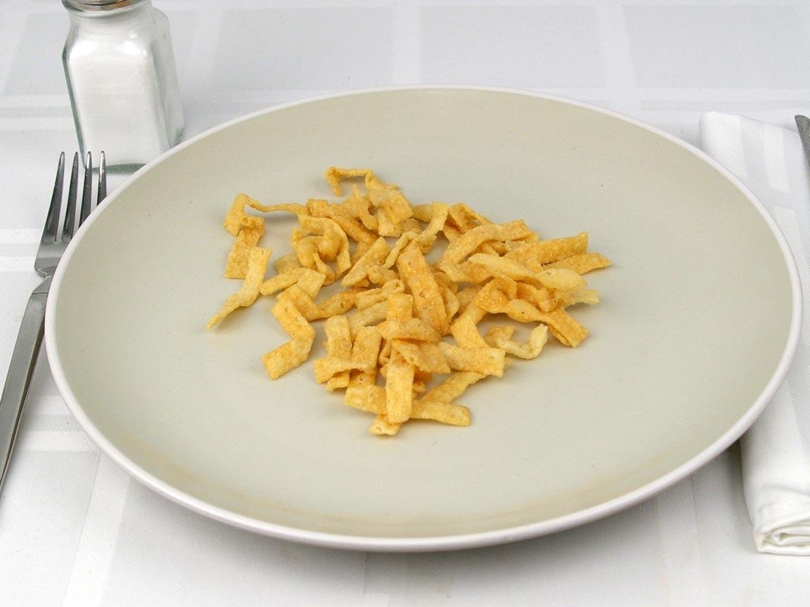 Calories in 6 Tbsp(s) of Crispy Wonton Strips
