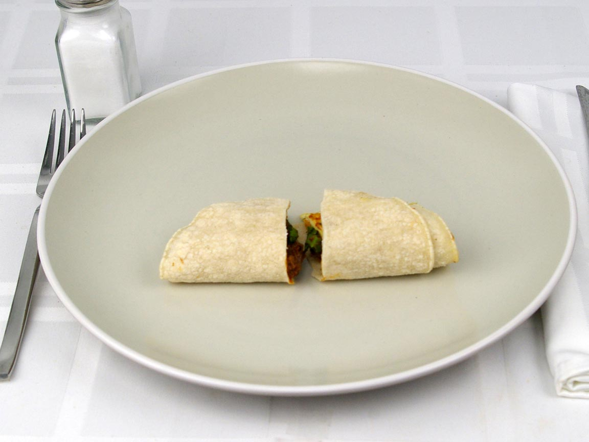 Calories in 1 taco(s) of Del Taco - Carne Asada Taco