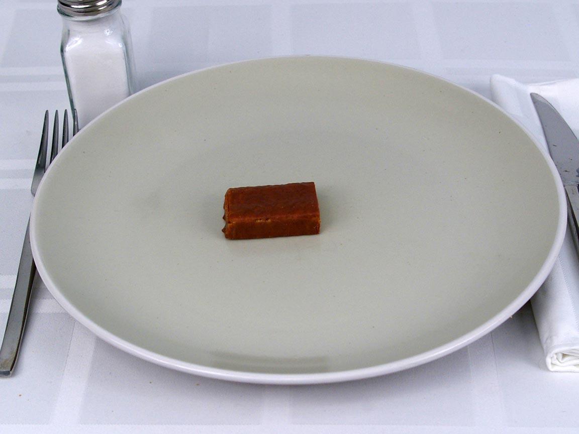 Calories in 0.5 ea(s) of Detour Low Sugar Protien Bar