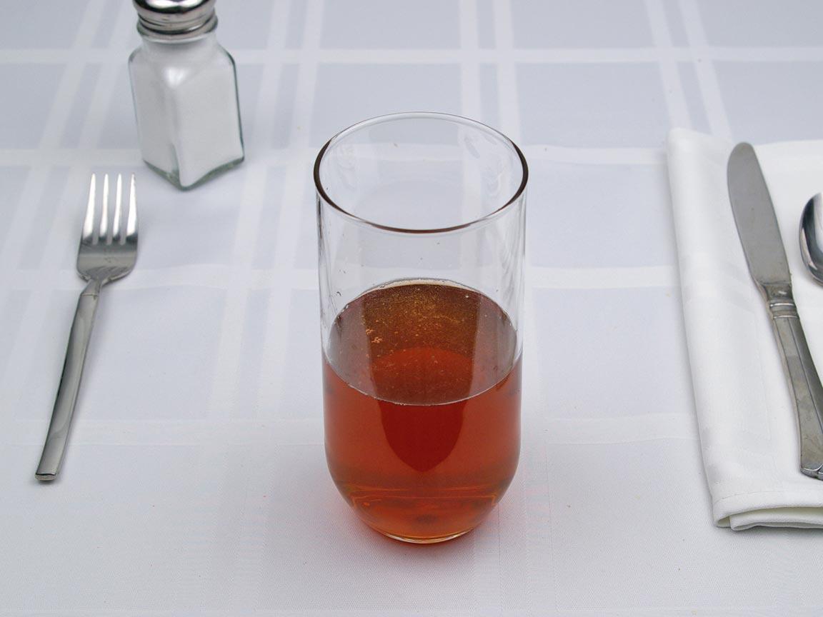 Calories in 8 fl oz(s) of Lipton Ice Tea - Peach