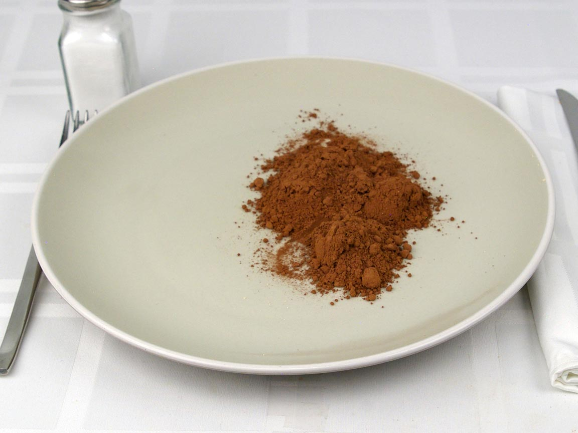 Calories in 4 Tbsp(s) of Dutch Cocoa Powder Unsweetened