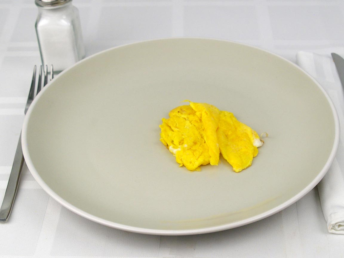 Calories in 2 large egg(s) of Egg Yolks Cooked - No Fat Added