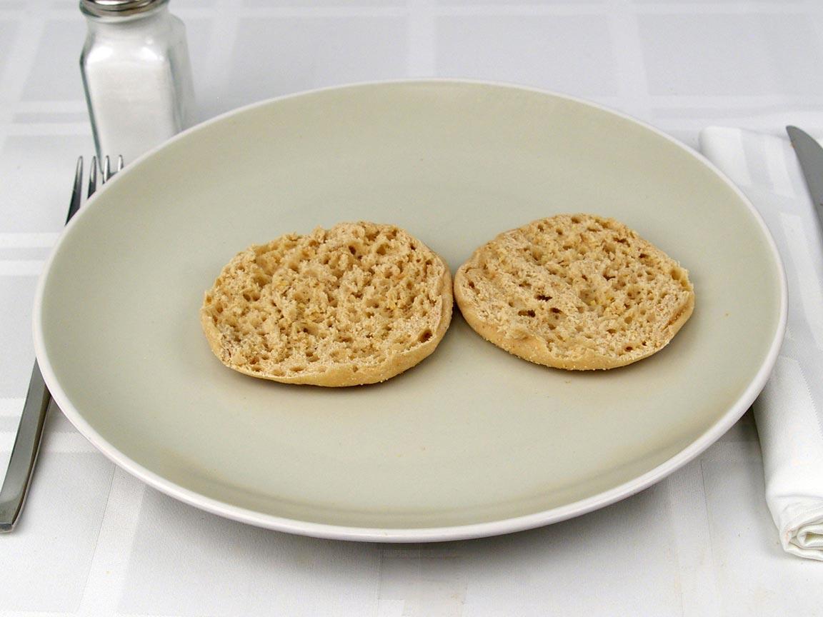Calories in 1 muffin(s) of English Muffin - Light Multi Grain