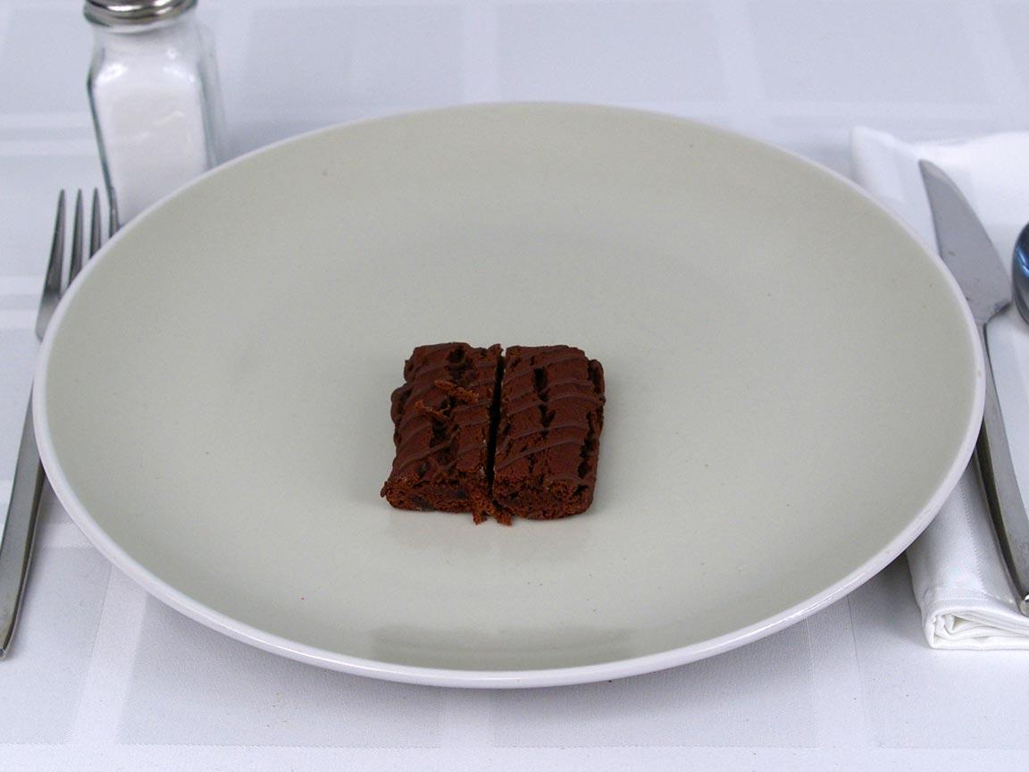 Calories in 1 ea(s) of Fiber One Chocolate Fudge Brownie