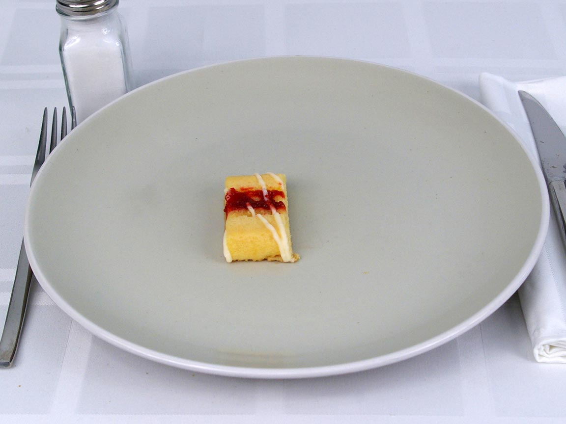 Calories in 0.5 ea(s) of Fiber One Cheesecake
