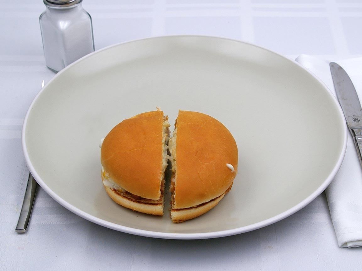 Calories in 1 filet(s) of McDonald's - Filet O' Fish