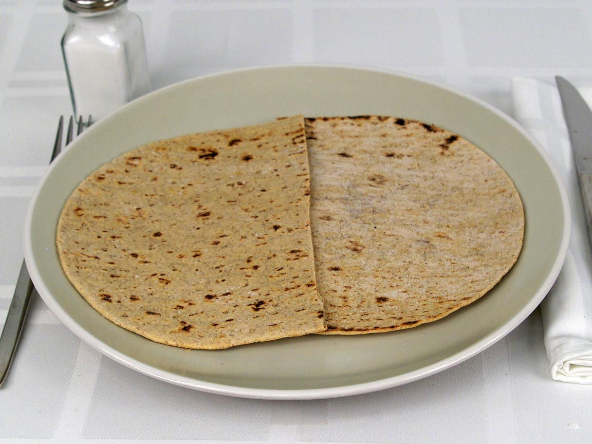 Calories in 1 flatbread(s) of Flatbread - Multi-grain Flax