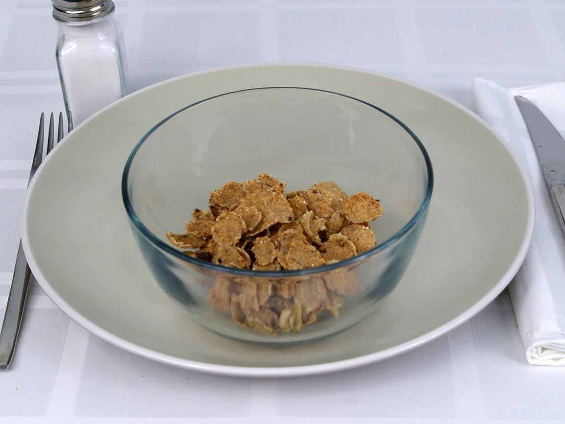 Calories in 0.75 cup(s) of Flax Plus Crunch Cereal