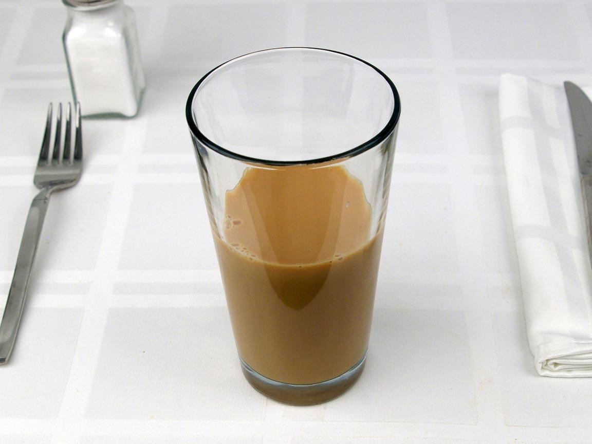 Calories in 0.56 bottle(s) of Starbucks Mocha Frappuccino - Bottle