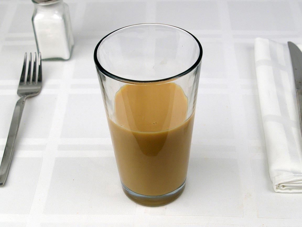 Calories in 0.56 bottle(s) of Starbucks Vanilla Frappuccino - Bottle