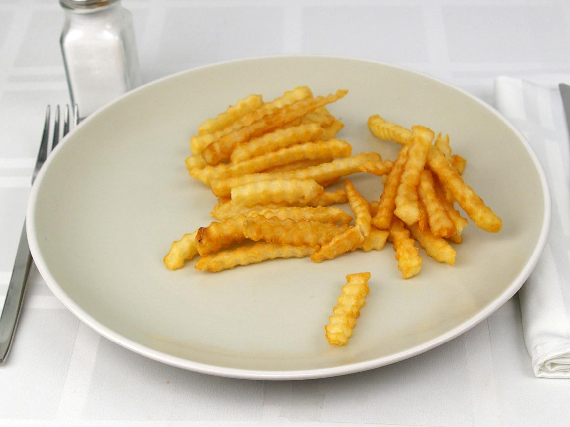 Calories in 3 oz(s) of Raising Cane's French Fries