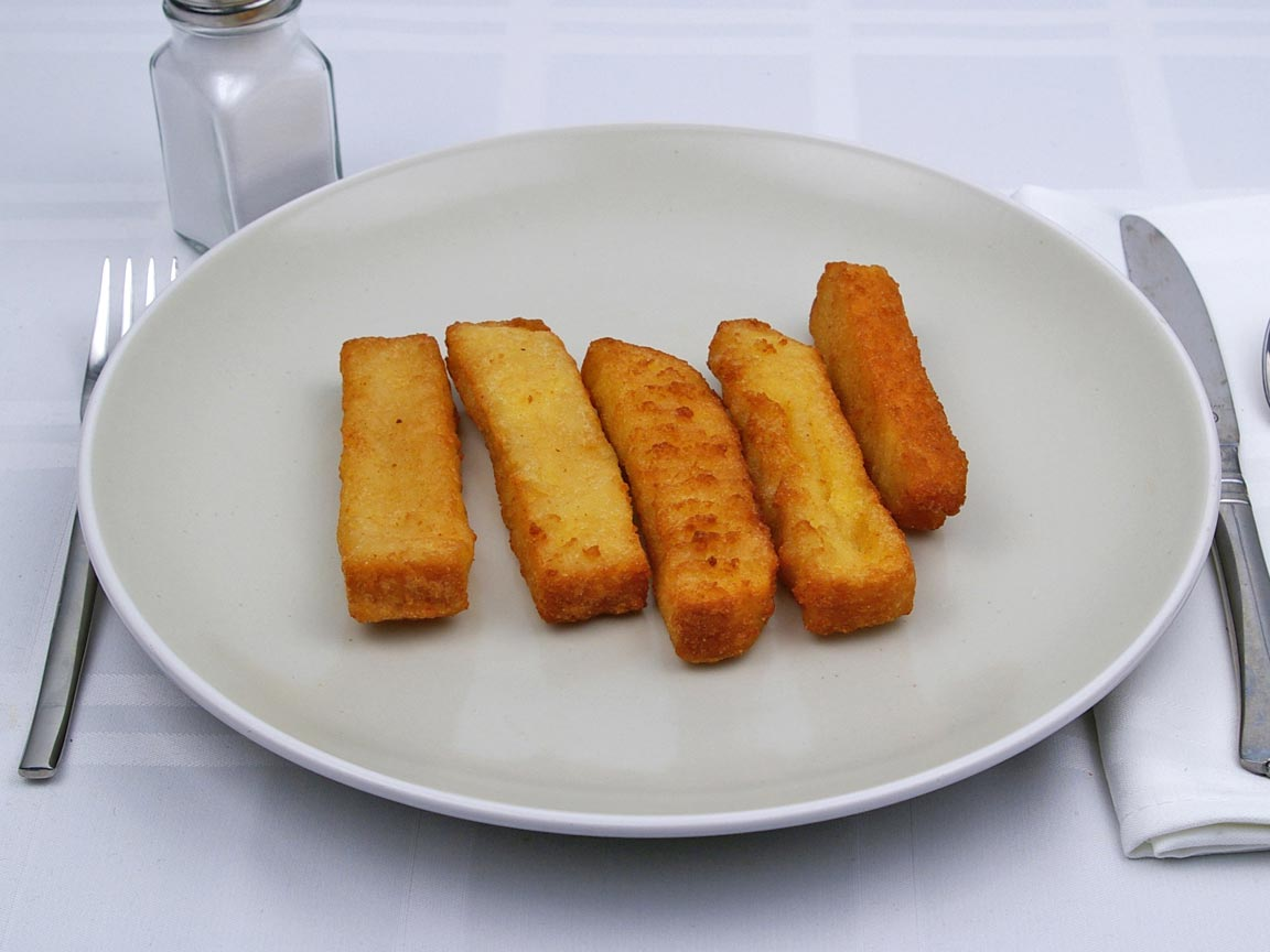 Calories in 5 stick(s) of Burger King - French Toast Sticks