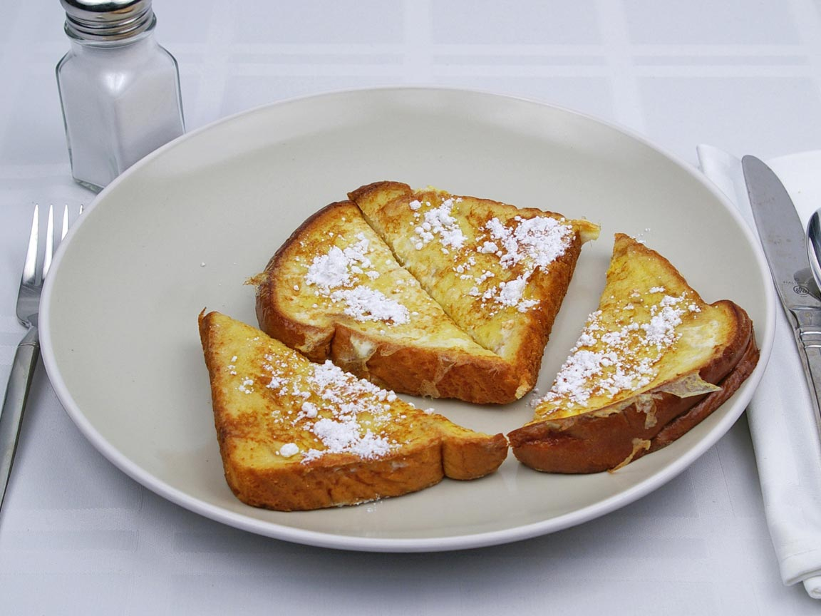 Calories in 2 slice(s) of French Toast