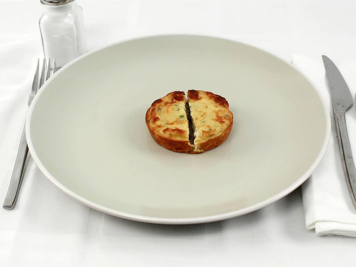 Calories in 1 frittata(s) of Egg Frittata Swiss & Cauliflower