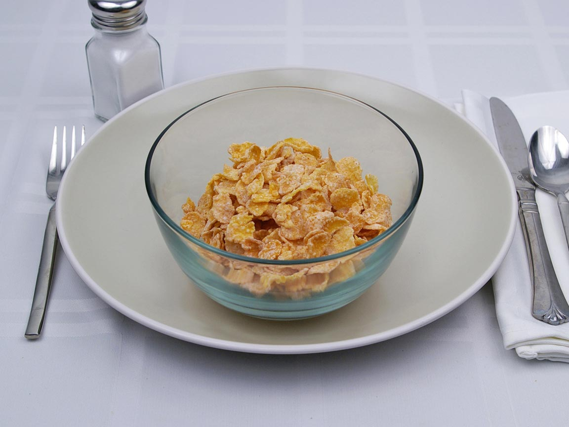Calories in 1.5 cup(s) of Frosted Flakes Cereal