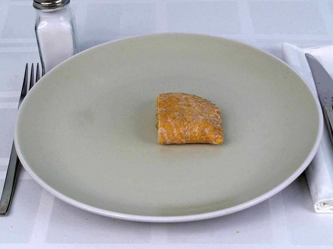 Calories in 0.5 ea(s) of Fruit Pie Lemon