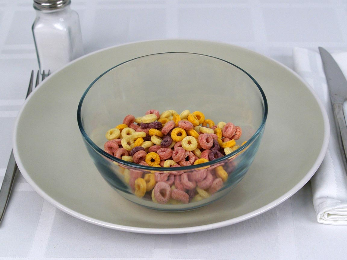 Calories in 1 cup(s) of Cheerios Cereal - Fruity