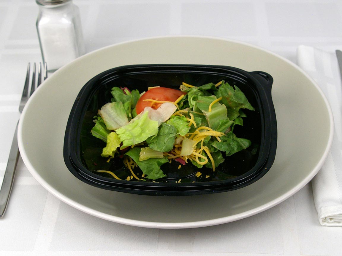 Calories in 0.5 salad(s) of Burger King Garden Salad