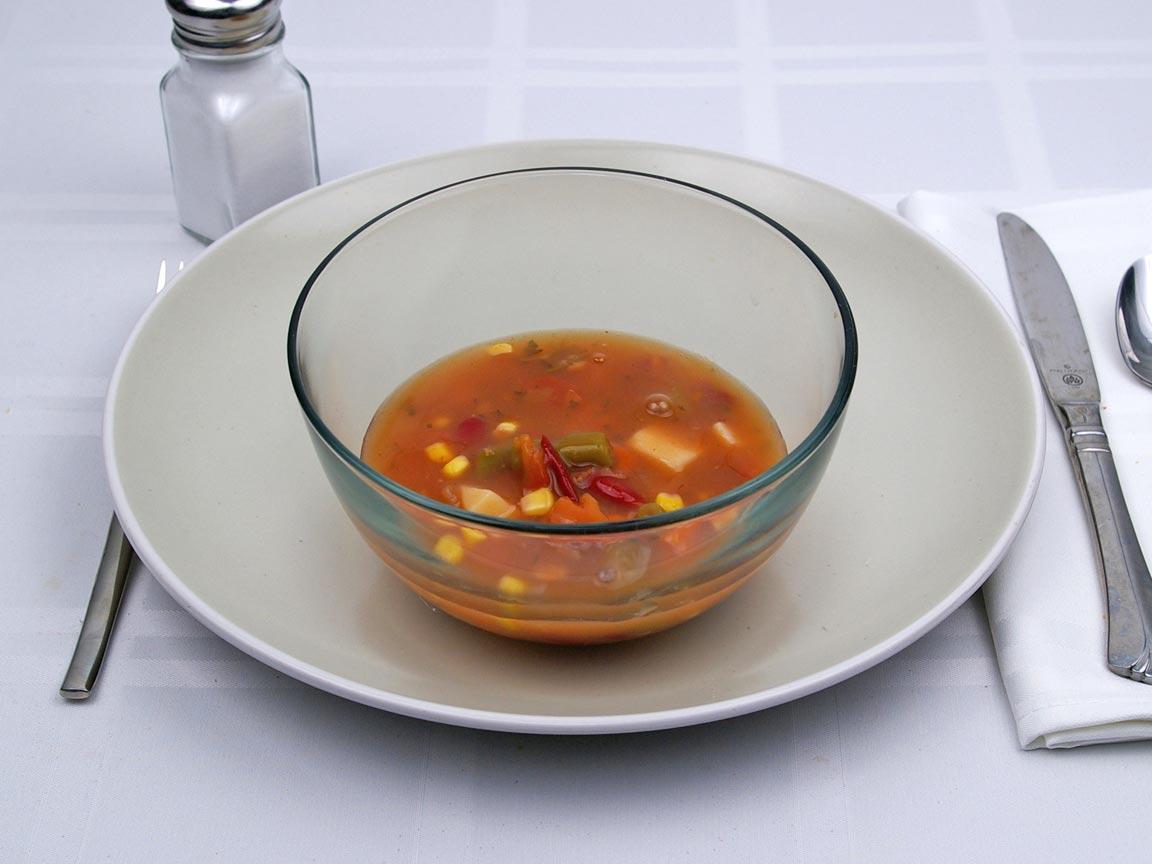 Calories in 1 cup(s) of Garden Vegetable Soup