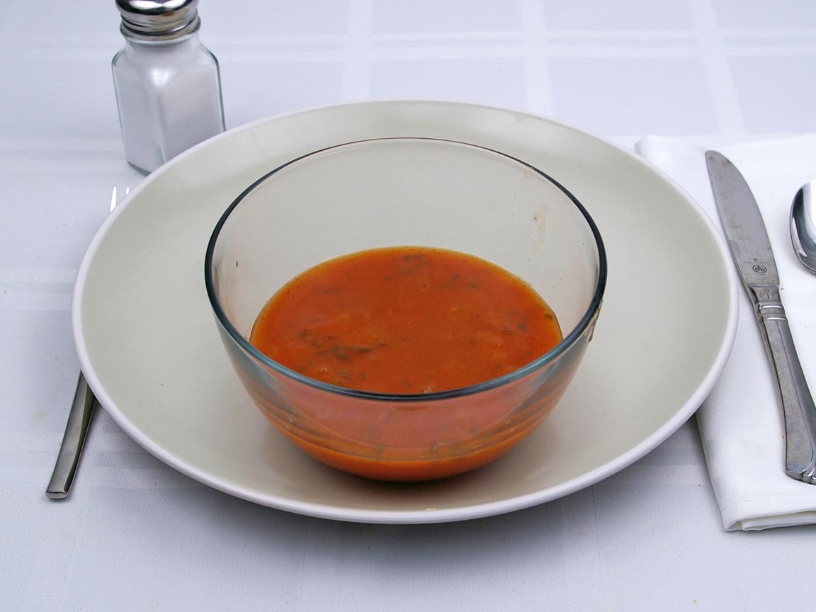 Calories in 1 cup(s) of Gazpacho Soup