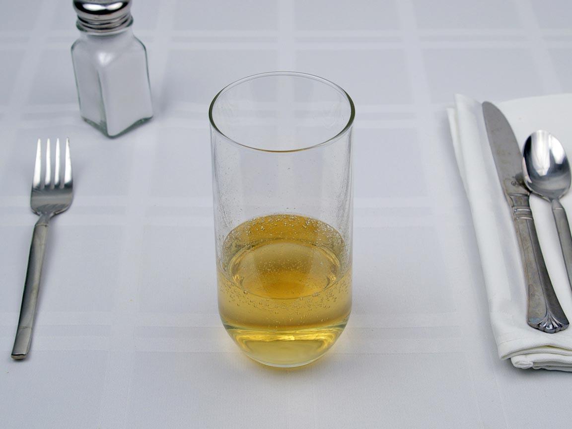 Calories in 6 fl oz(s) of Ginger Ale  Soda