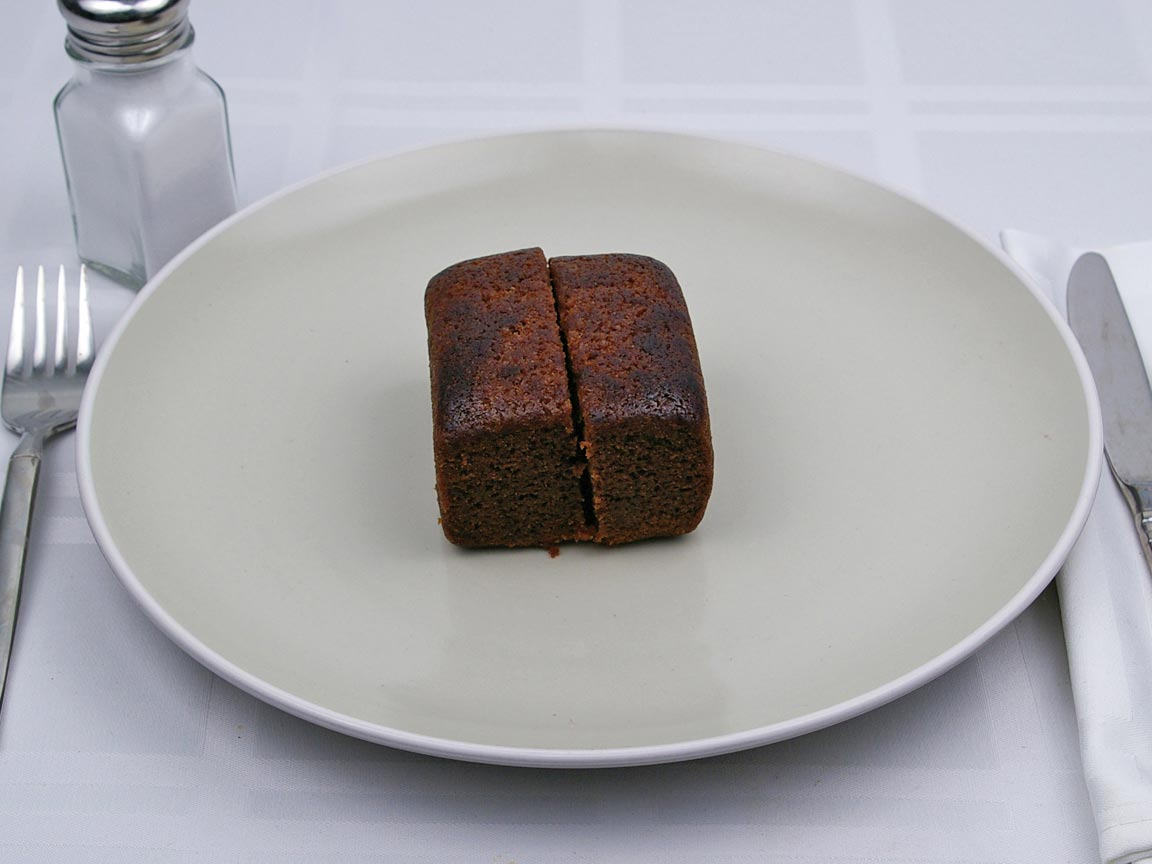 Calories in 2 piece(s) of Gingerbread Cake