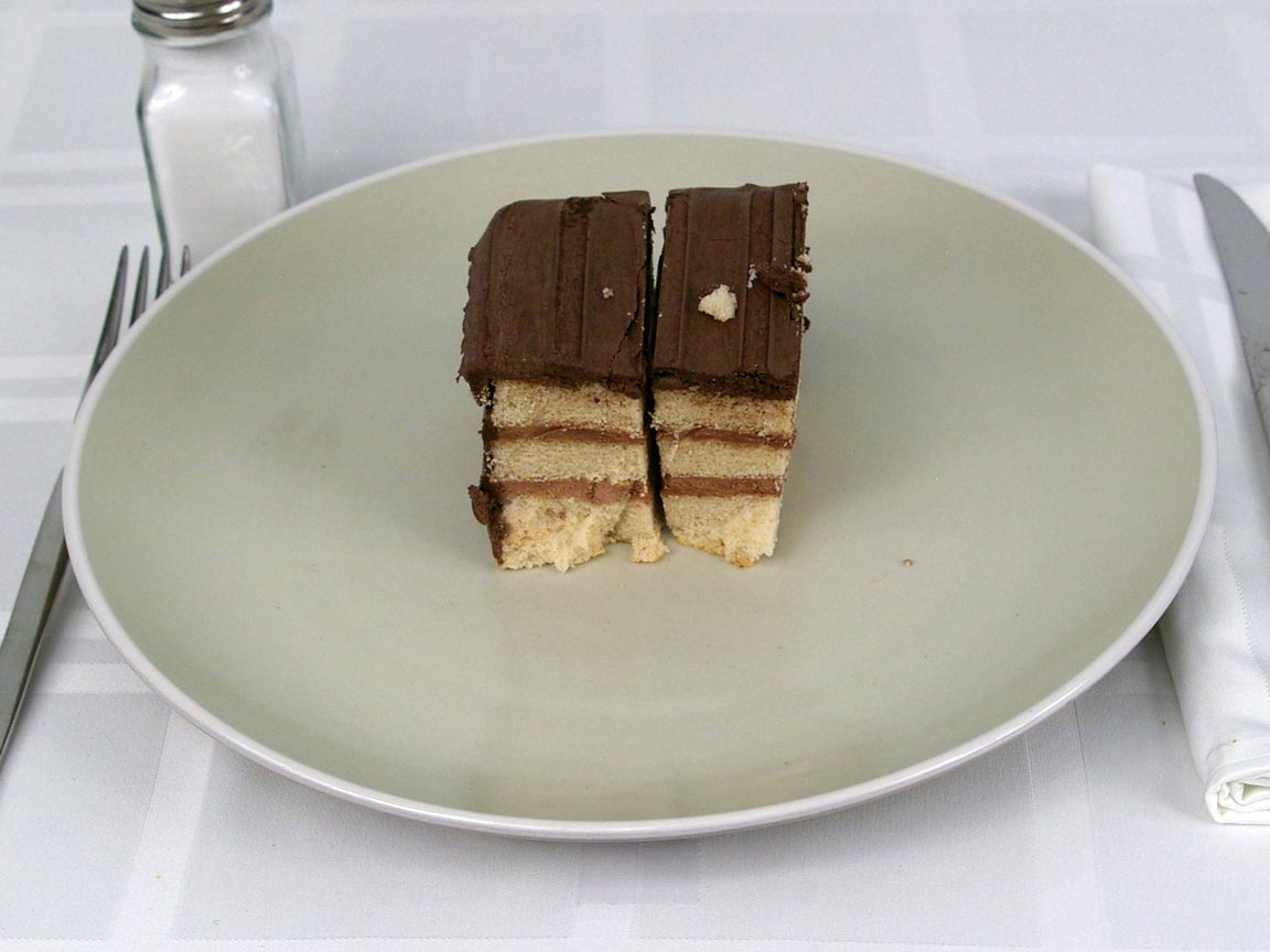 Calories in 2 piece(s) of Golden Layer Cake