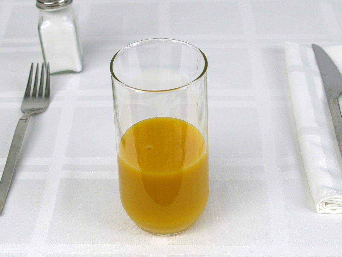 Calories in 8 fl oz(s) of Daily Golden Vedge Juice