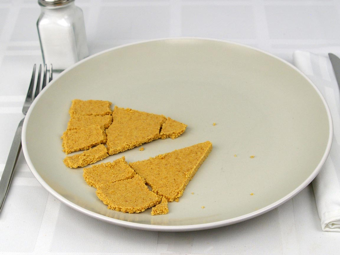 Calories in 42 grams of Graham Cracker Pie Crust