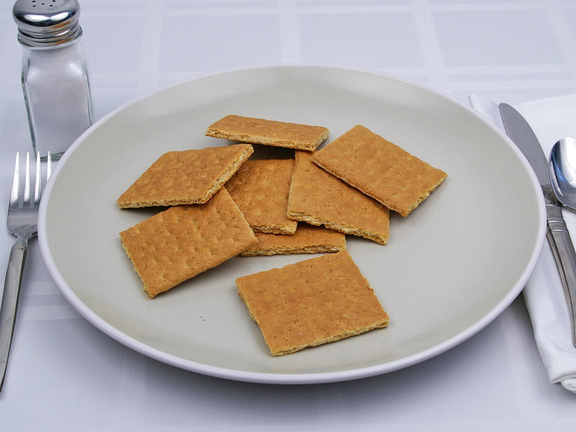 Calories in 62 grams of Graham Crackers