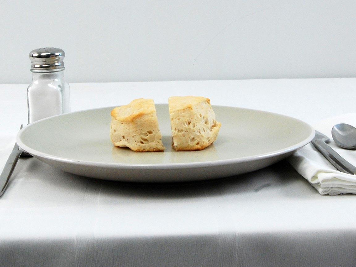 Calories in 1 biscuit(s) of Grands Buttermilk Biscuit