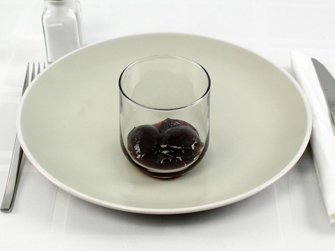 Calories in 3 Tbsp(s) of Grape Jam